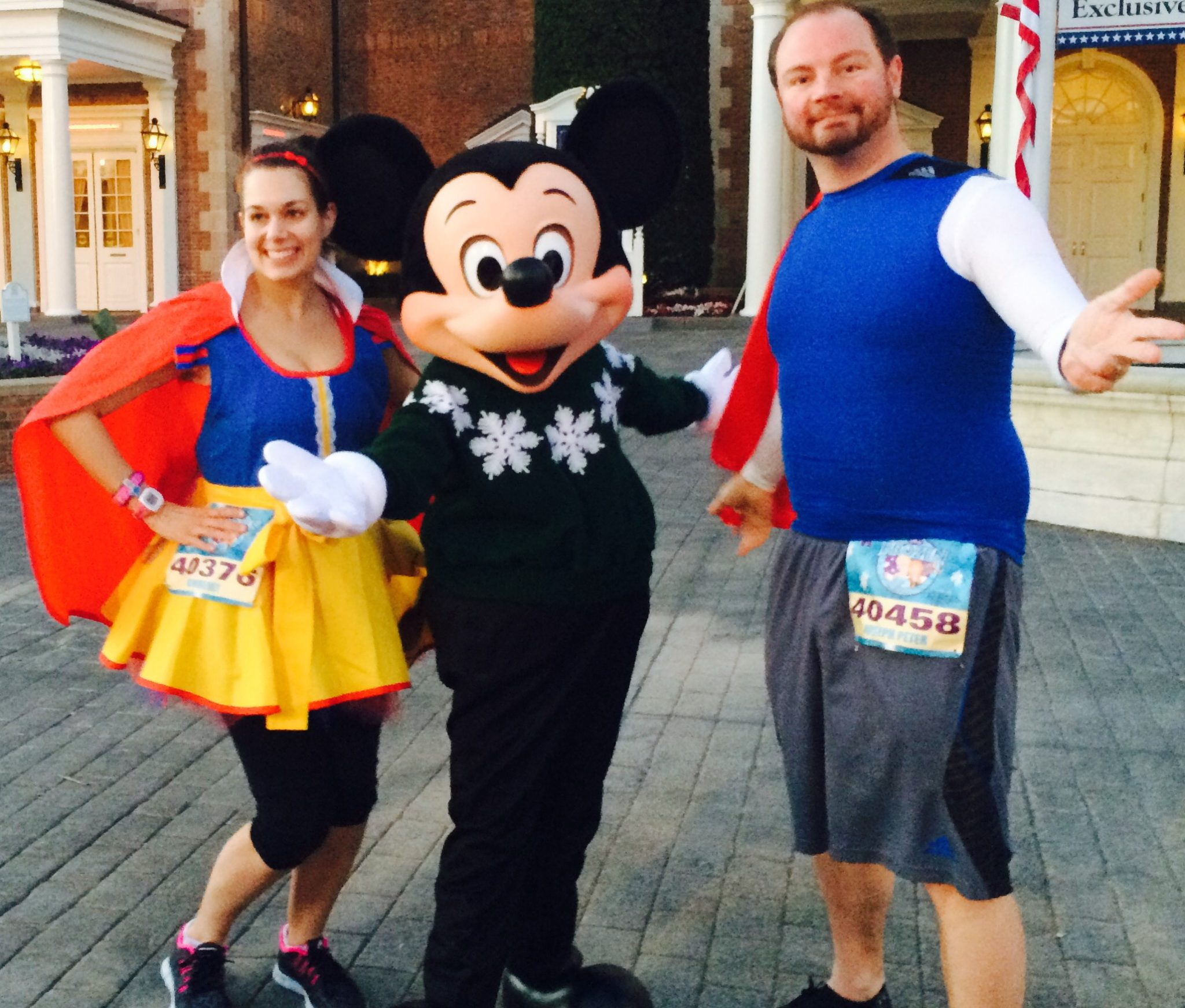 We ran as Snow White and Prince Charming for the Frozen 5k in 2015.