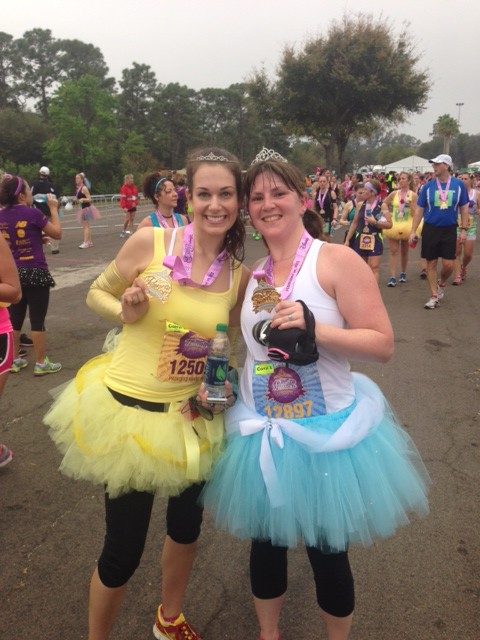 Kierstn and I at the 2013 Princess Half Marathon