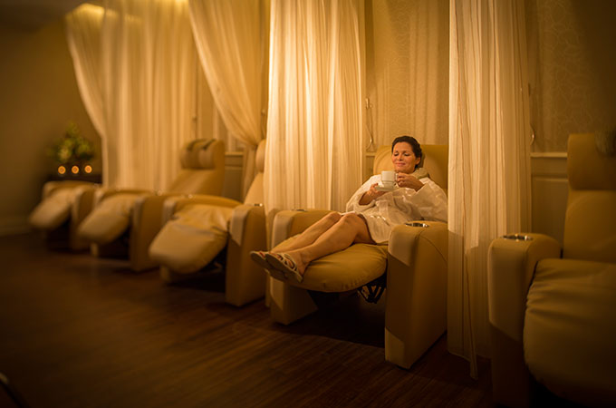 Relax your tired feet. Photo credit: Disney.com.