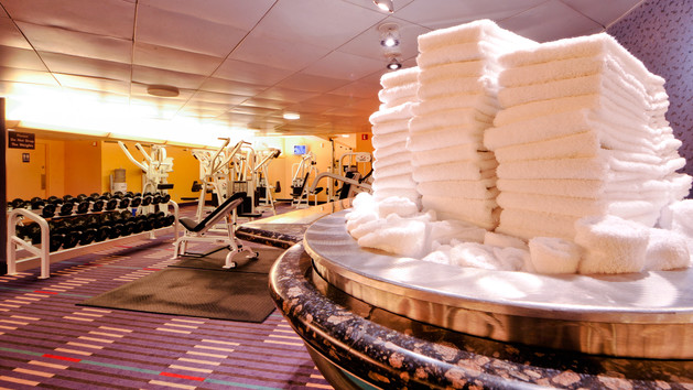 The Olympian Fitness Center at Disney's Contemporary Resort