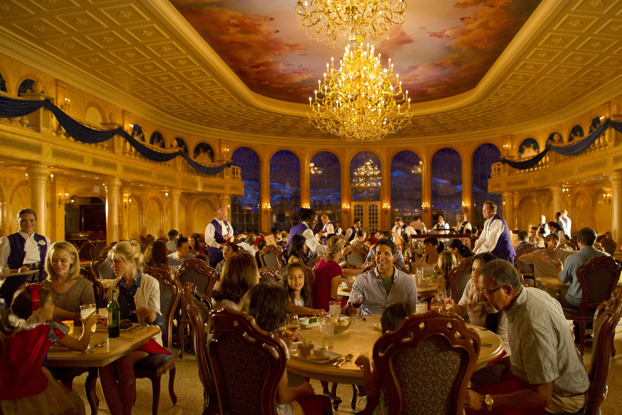 Be our Guest is a popular restaurant and Magic Kingdom's newest. Photo Credit: Orlando Sentinel