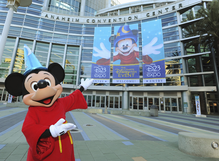 D23 Expo at Disneyland. Photo credit: Disney Parks Blog.