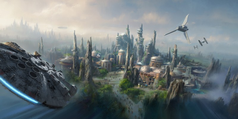 Star Wars Land, Photo Credit: Inside the Magic.
