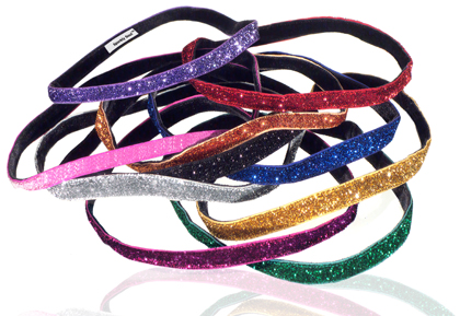 Look at all of the pretty sparkle on these Sparkly Soul Headbands! Photo Credit: Sparkly Soul.