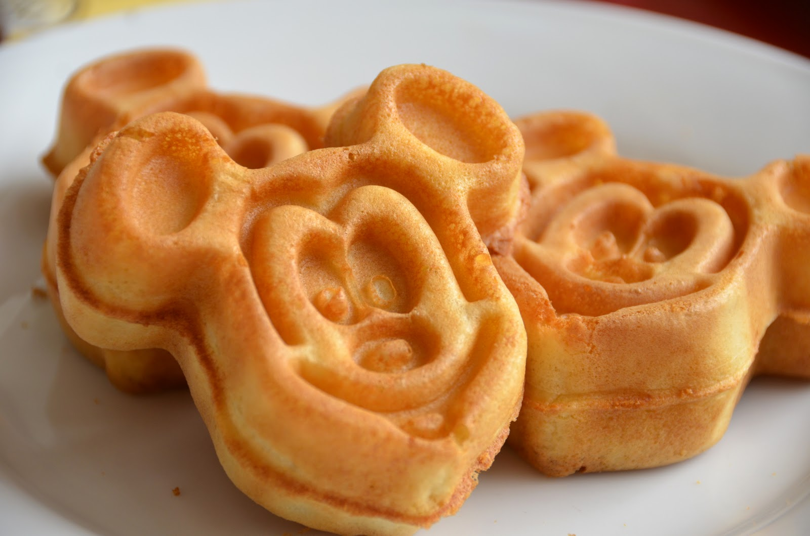 You may not have the chance to enjoy Mickey waffles after the race. Pick a different day! Photo credit: Disney Dining