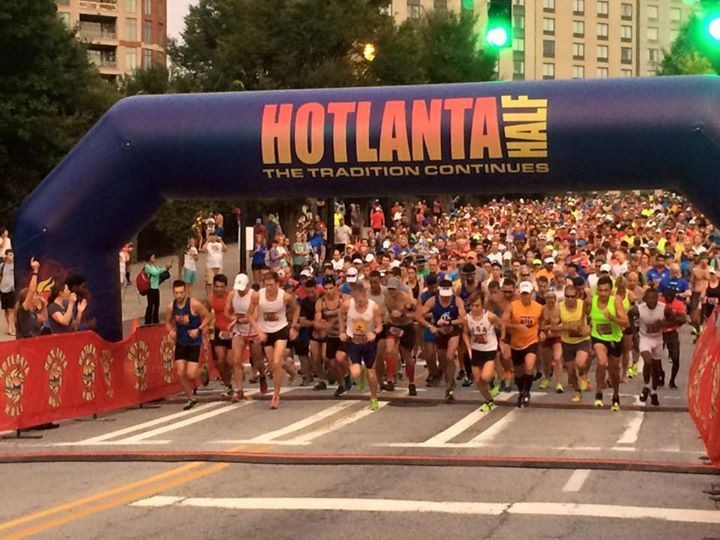 Fit Disney Mom, Hotlanta Half Marathon, Race Review