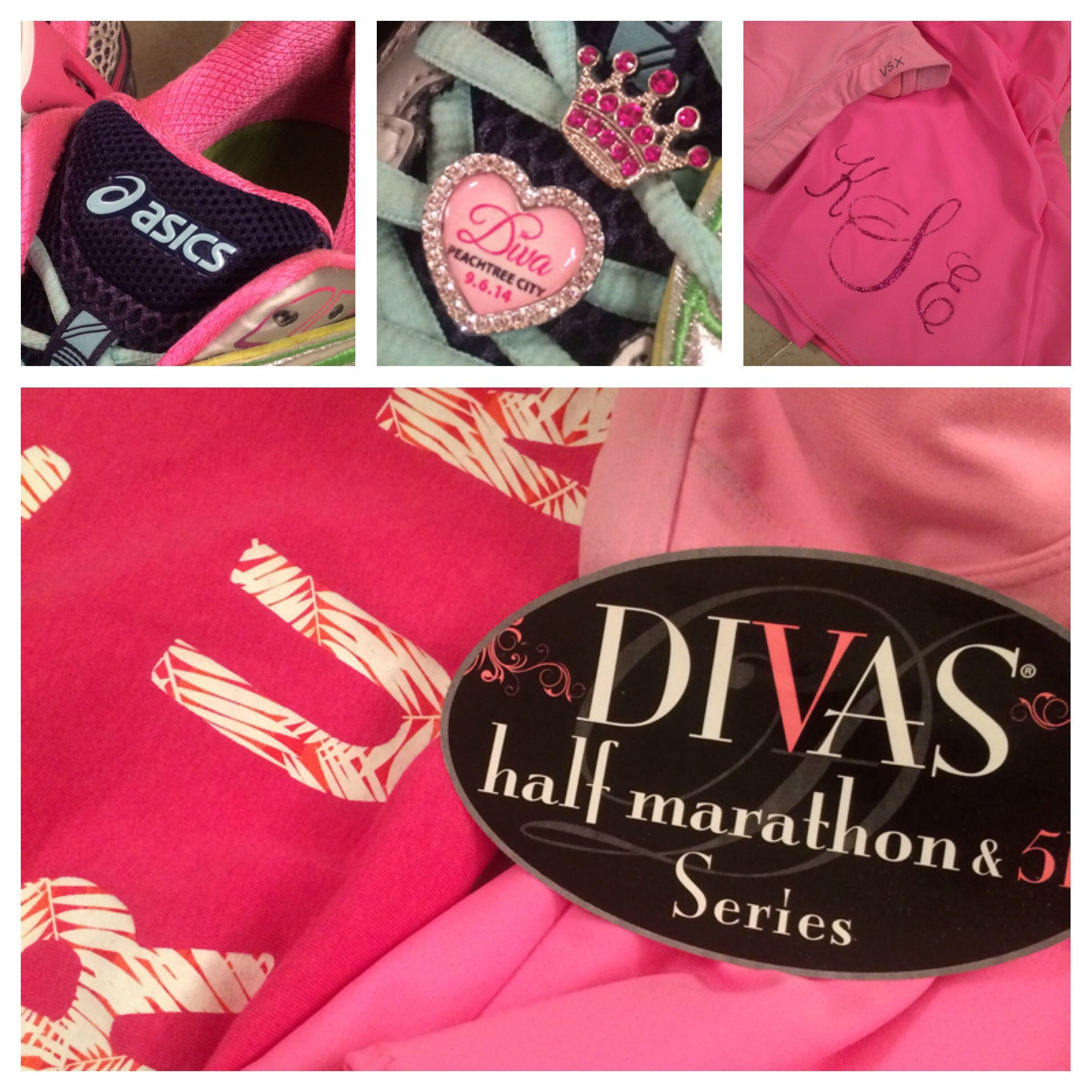 Think pink for the Diva Half Marathon!