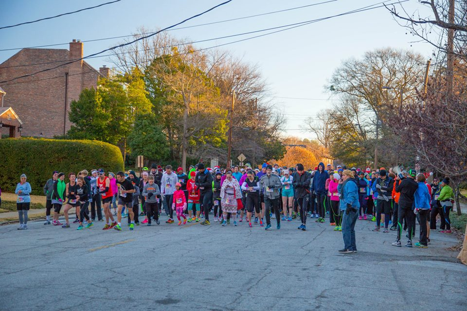 The inaugural Barb's 5k races, held last year.