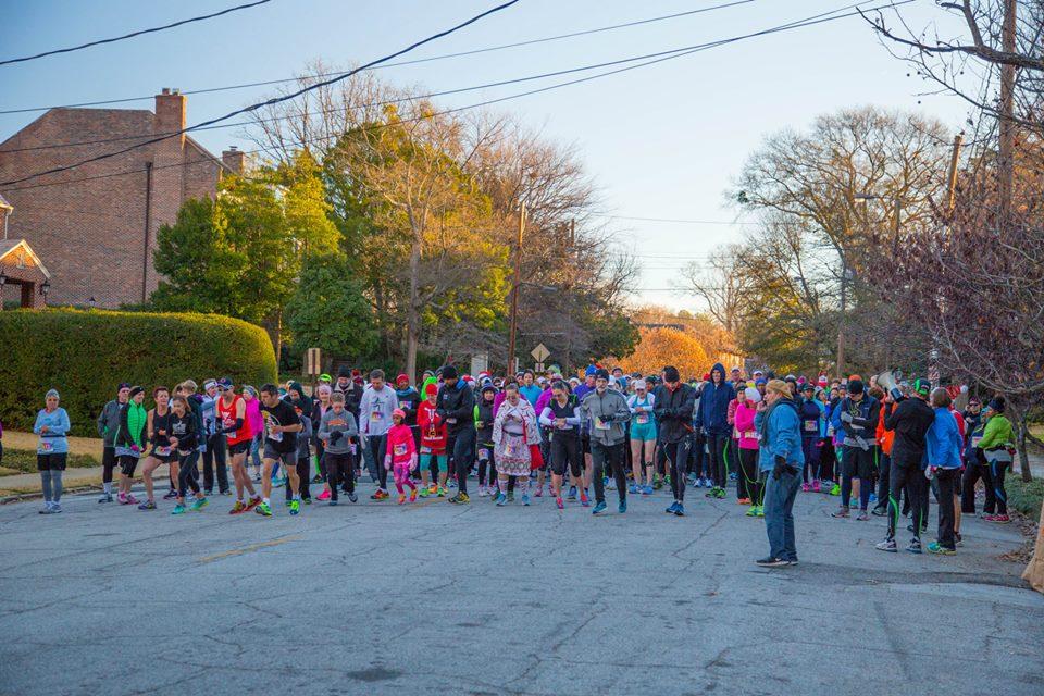 The inaugural Barb's 5k races, held last year.