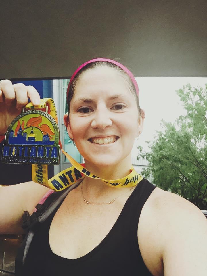 Fit Disney Mom, Hotlanta Half Marathon, Running