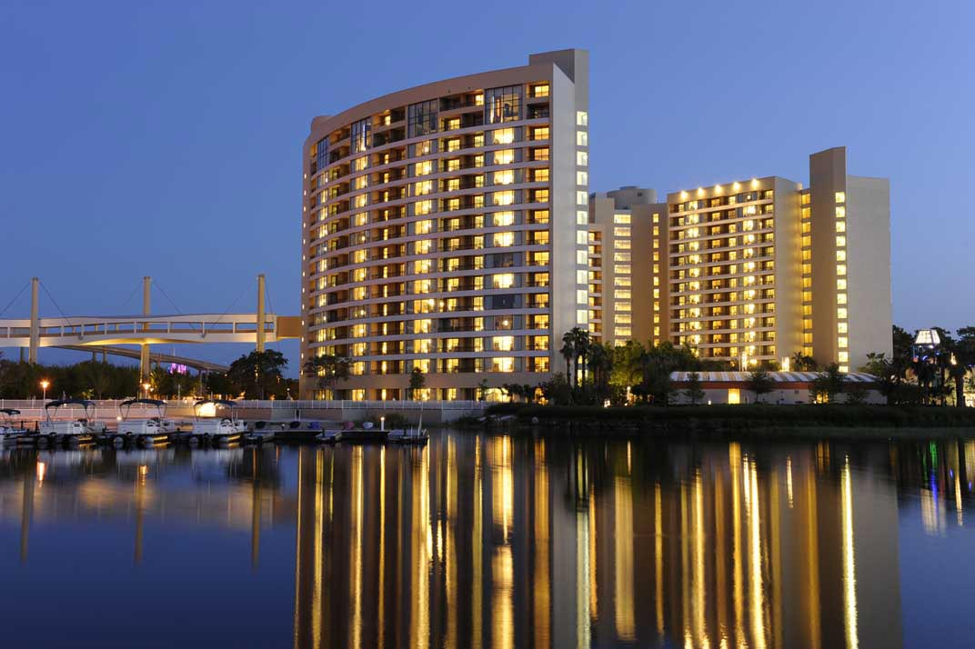 Bay Lake Towers Hotel. Photo credit: Priceline.