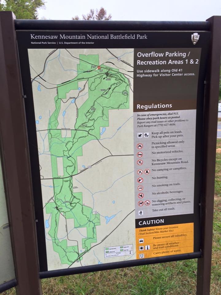 Kennesaw National Battlefield Park has so many hiking options.