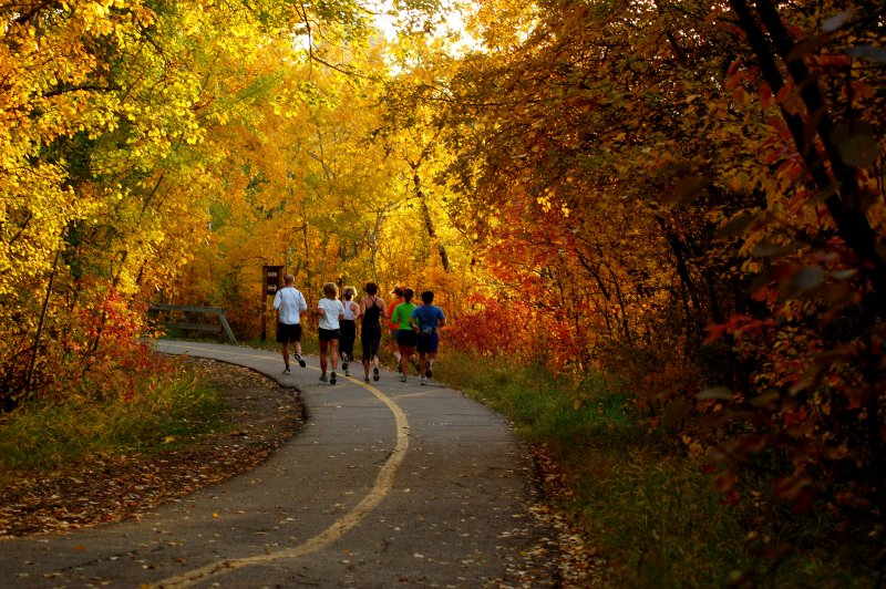 Fall running is the best! Photo Credit: Reach your Peak.