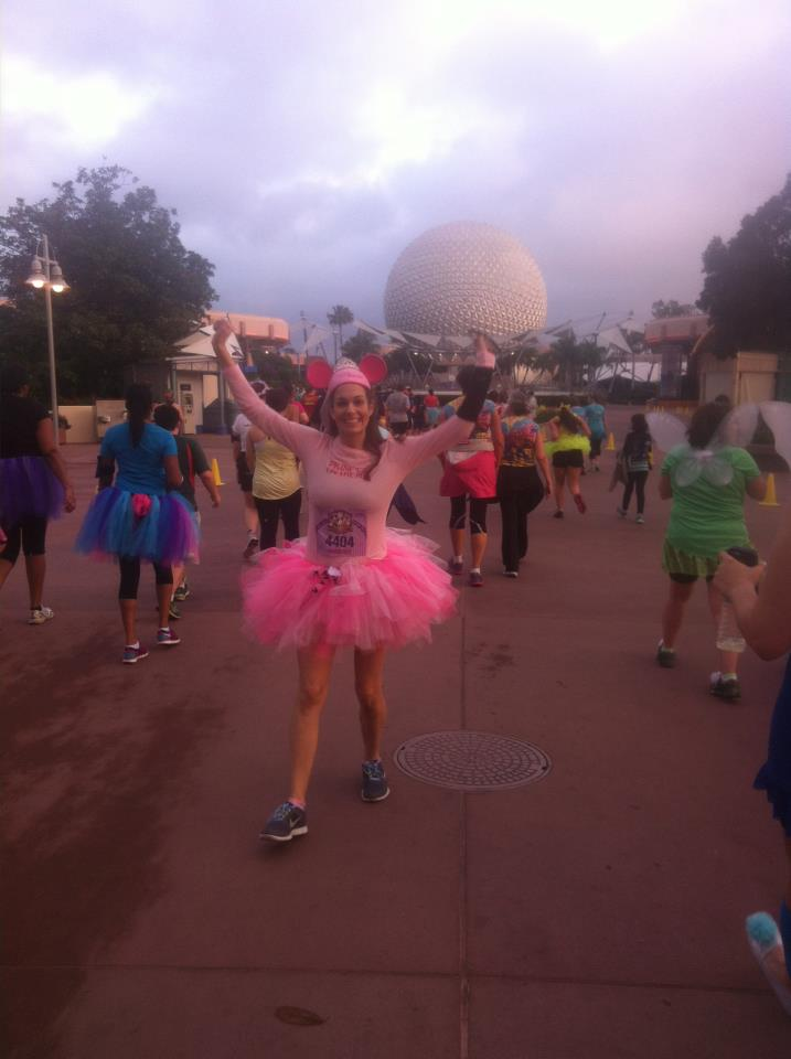 My first running costume was a tutu!