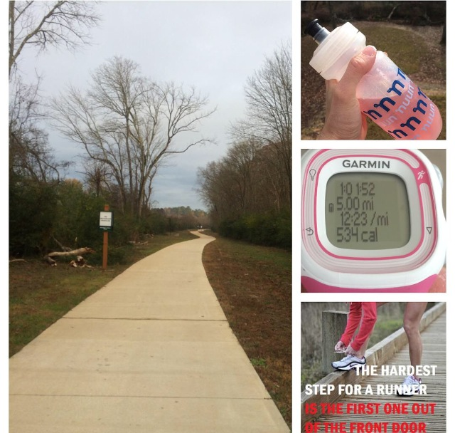 Another 5 miles for WDW Marathon training in the books.
