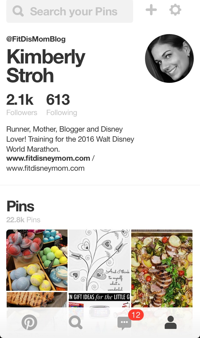 I have over 22,000 pins on Pinterest and so many of them are healthy recipes.