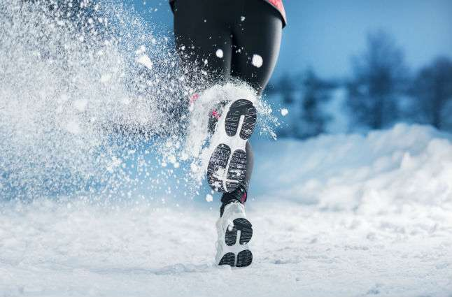 You can head out for a Winter run, if you have the proper gear. Photo credit: Run2Succeed