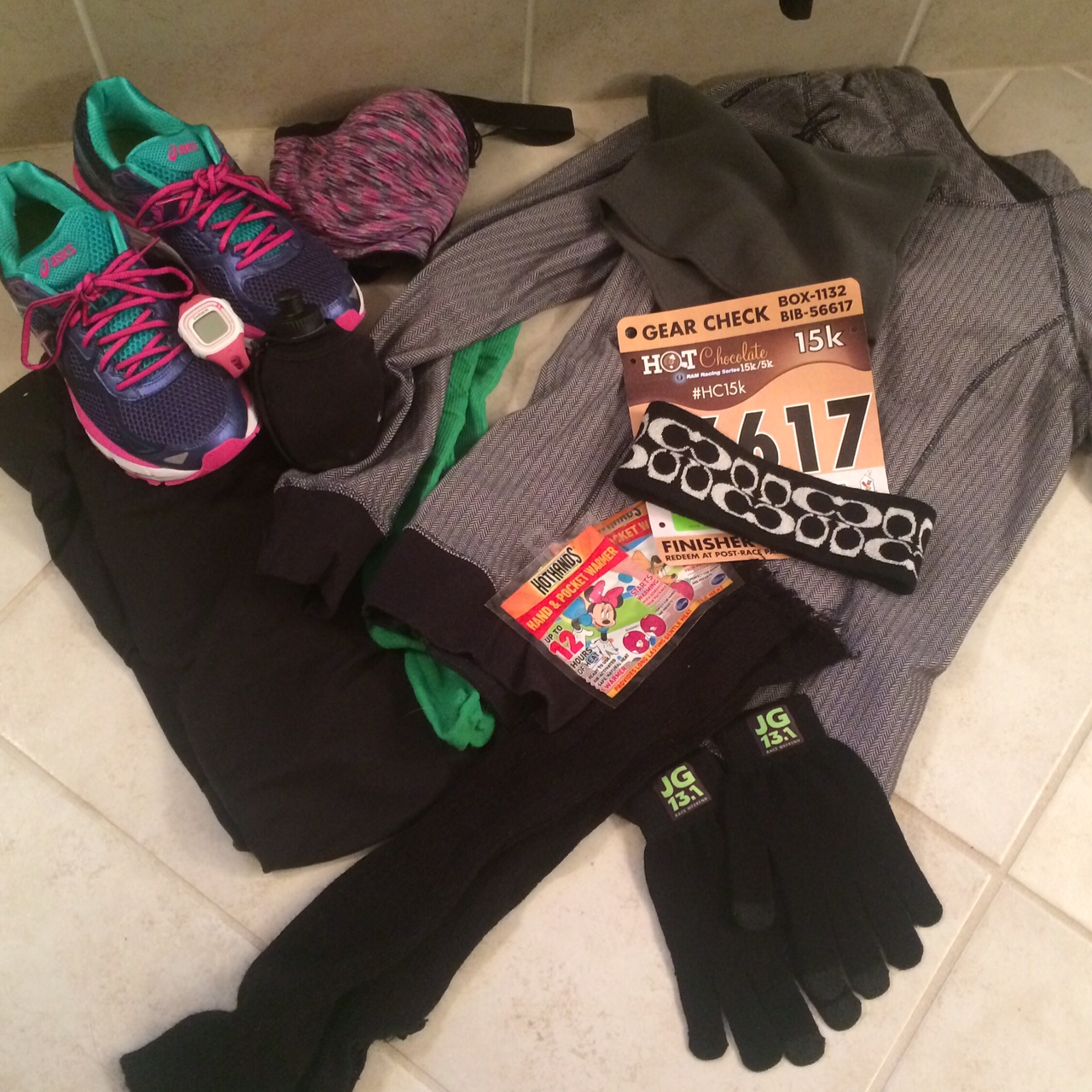 Hot Chocolate 15k: the race of 2016 that didn't happen. DNS for me.