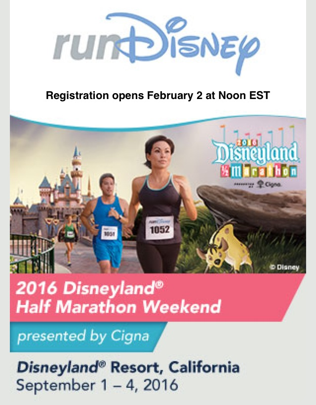Fit Disney Mom, Run Disney Registration, Disneyland Half