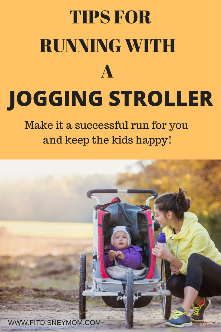 Tips for running with a jogging stroller.