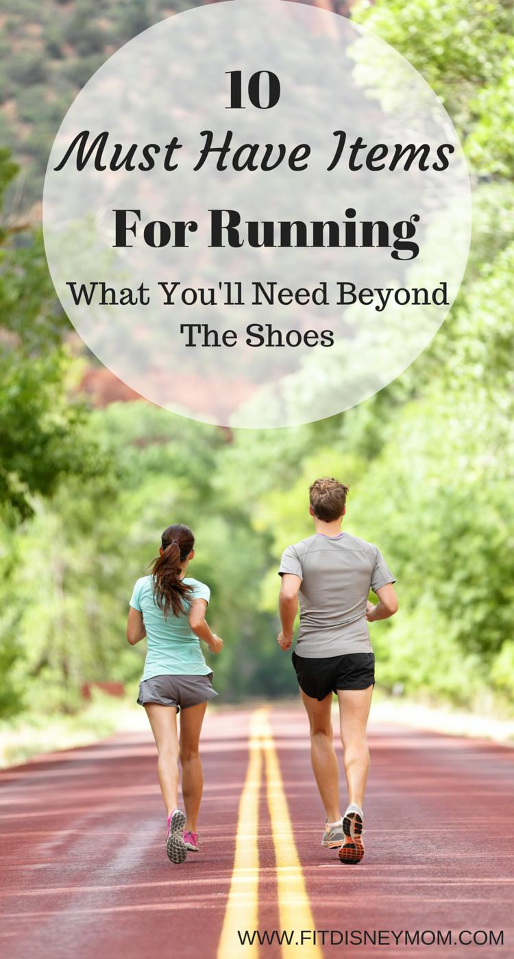 Must Have Items for Running, Beginner Running Advice, 10 Must Have Running Items, Running Gear, Running Tips