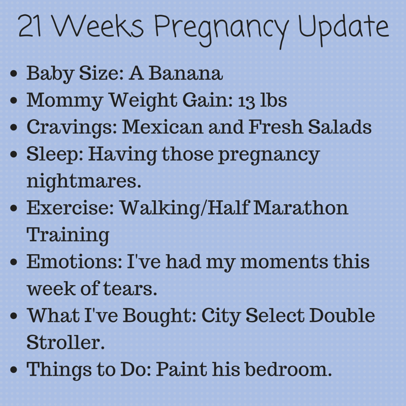 21 weeks pregnant, pregnancy update