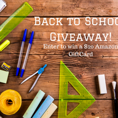 Back to School: Tips for Starting a Healthy Year + GIVEAWAY!