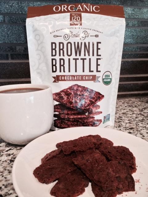 New Sheila G's Organic Brownie Brittle