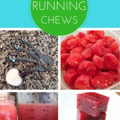 Homemade Watermelon Running Chews for Fuel