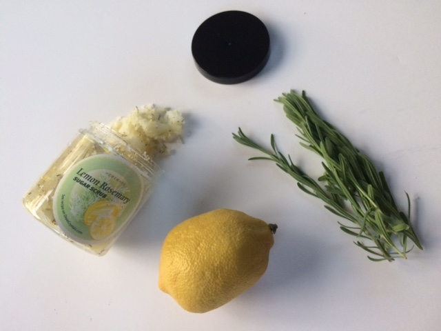 Lemon Rosemary Exfoliating Scrub, Lemon Rosemary Exfoliating Srub recipe