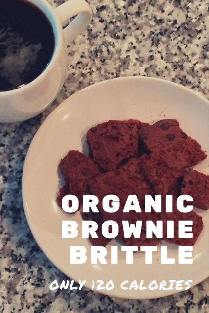 Sheila G Organic Brownie Brittle is a Guilt Free Treat