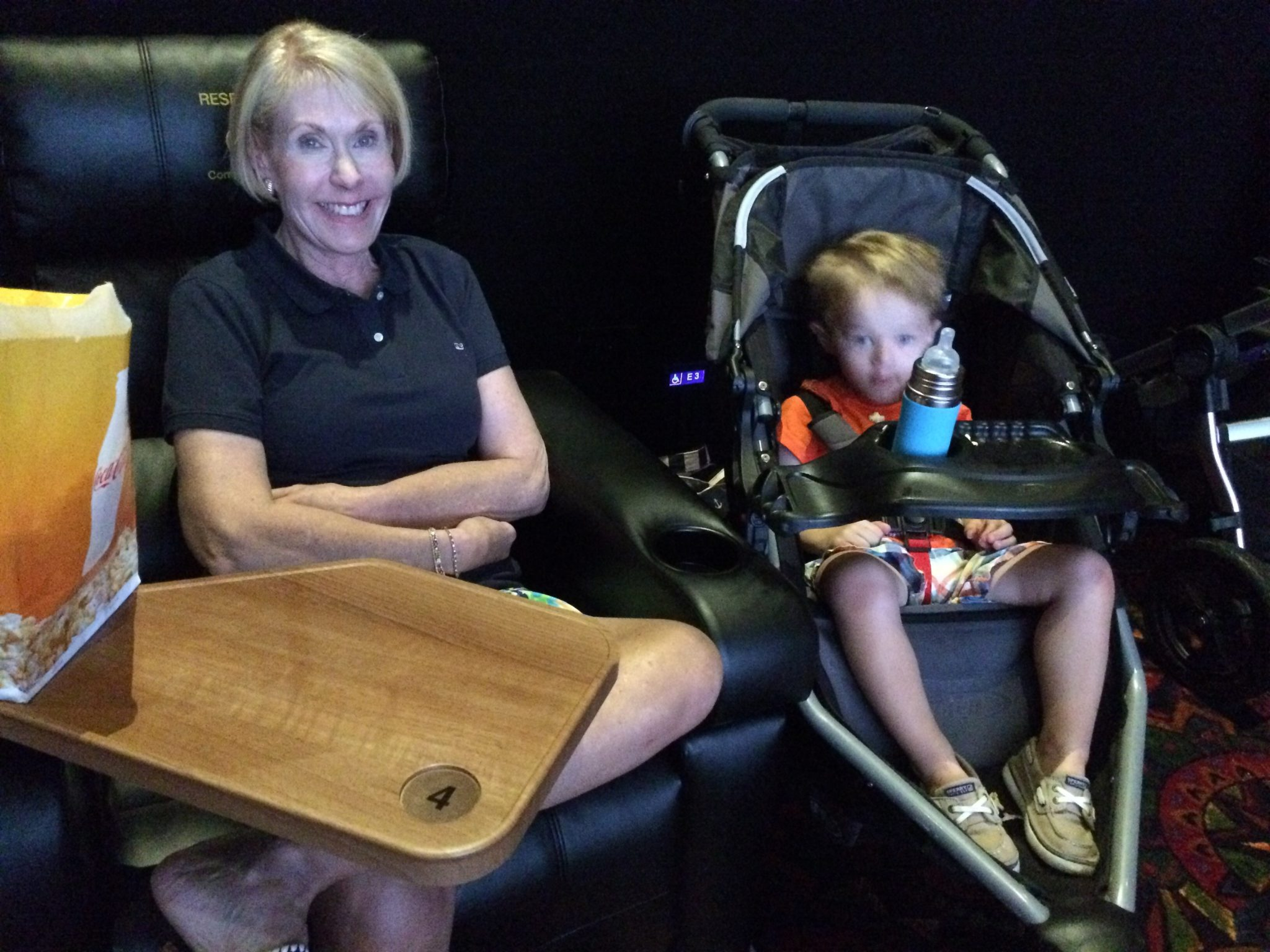 Tips for your toddler's first movie theater experience.