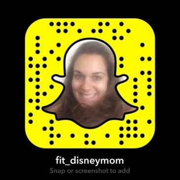 Fit Disney Mom is on Snapchat!
