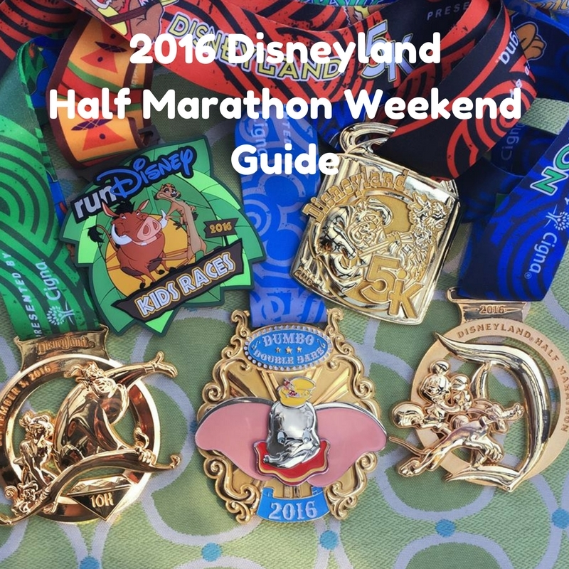 2016 Disneyland Half Marathon Guide