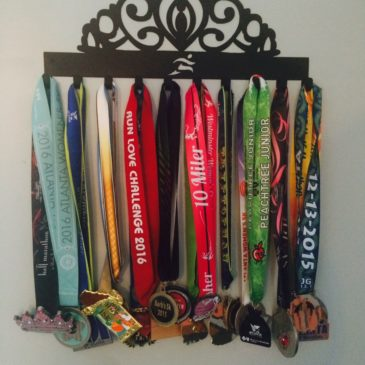 How I Display my Race Memorabilia