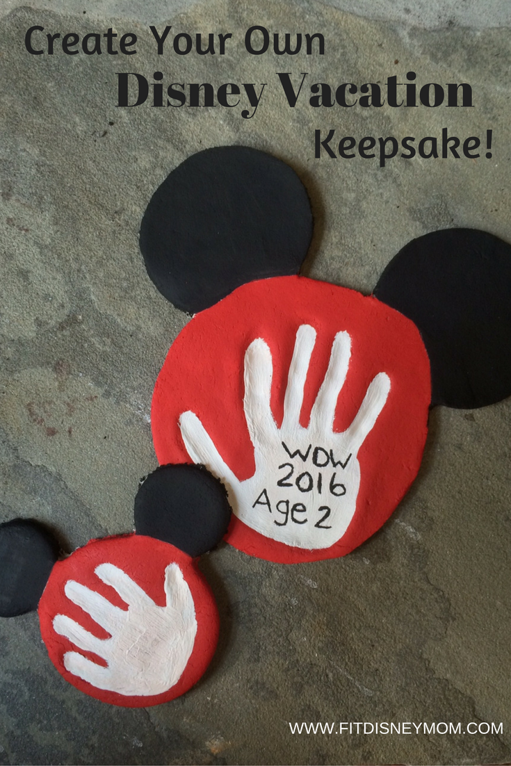 Make Your Own Disney Vacation Keepsake