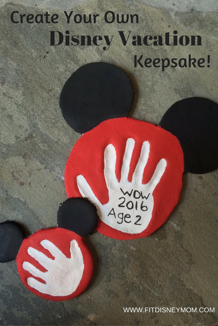 Make Your Own Disney Vacation Keepsake