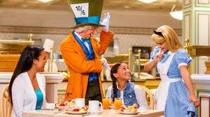 Wonderland Tea Party at the Grand Floridian Resort