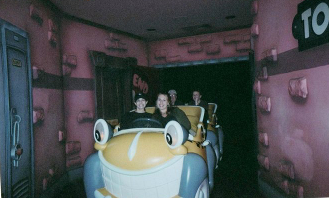 My Sister and I on Mr. Toad's