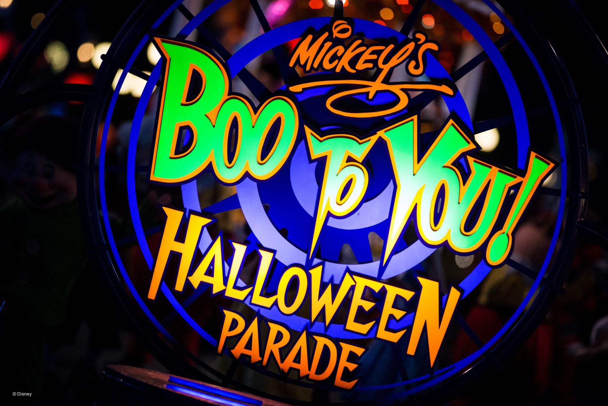 Mickey's Not so Scary Halloween Party Tips