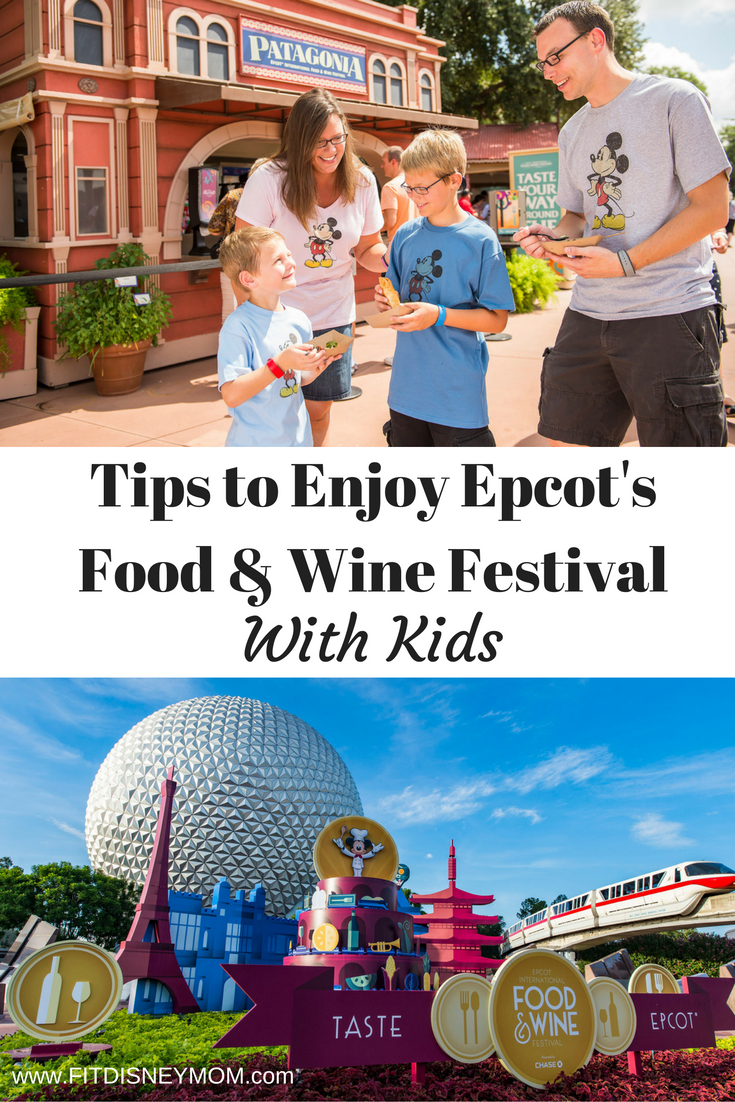 Tips to Enjoy Epcot's Food and Wine Festival With Kids