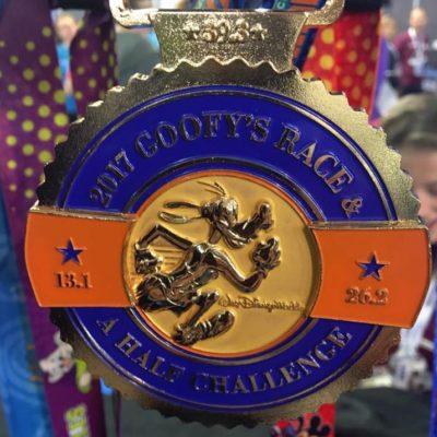 2017 Run Disney WDW Marathon Weekend Medals