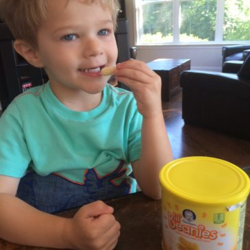 New Gerber Lil' Beanies Snacks for Toddlers