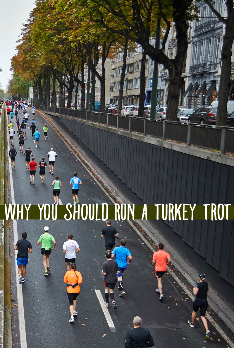 Running a Turkey Trot