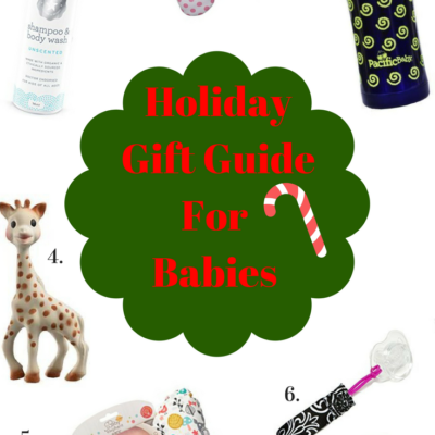 2016 Holiday Gift Guide for Babies
