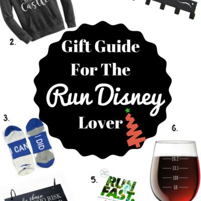 Holiday Gift Guide for the Run Disney Runner
