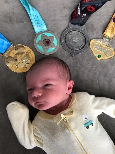 Running Races while Pregnant