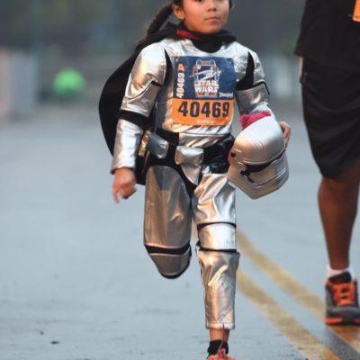 Running Costume Highlights from Run Disney's Star Wars Light Side Half