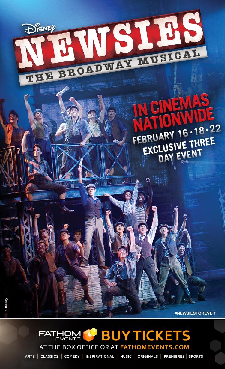 Fathom Events presents Newsies the musical