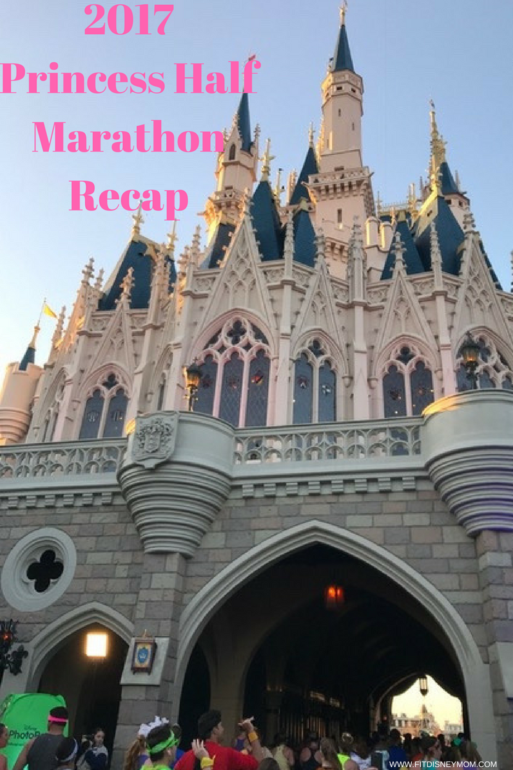 Run Disney Princess Half Marathon, Run Disney, Glass Slipper Challenge